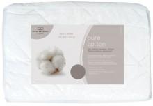 Pure Cotton MAttress protector by fine bedding company