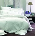 Monaco White 100% Cotton Duvet Cover, Boutique Collection by Linenhouse