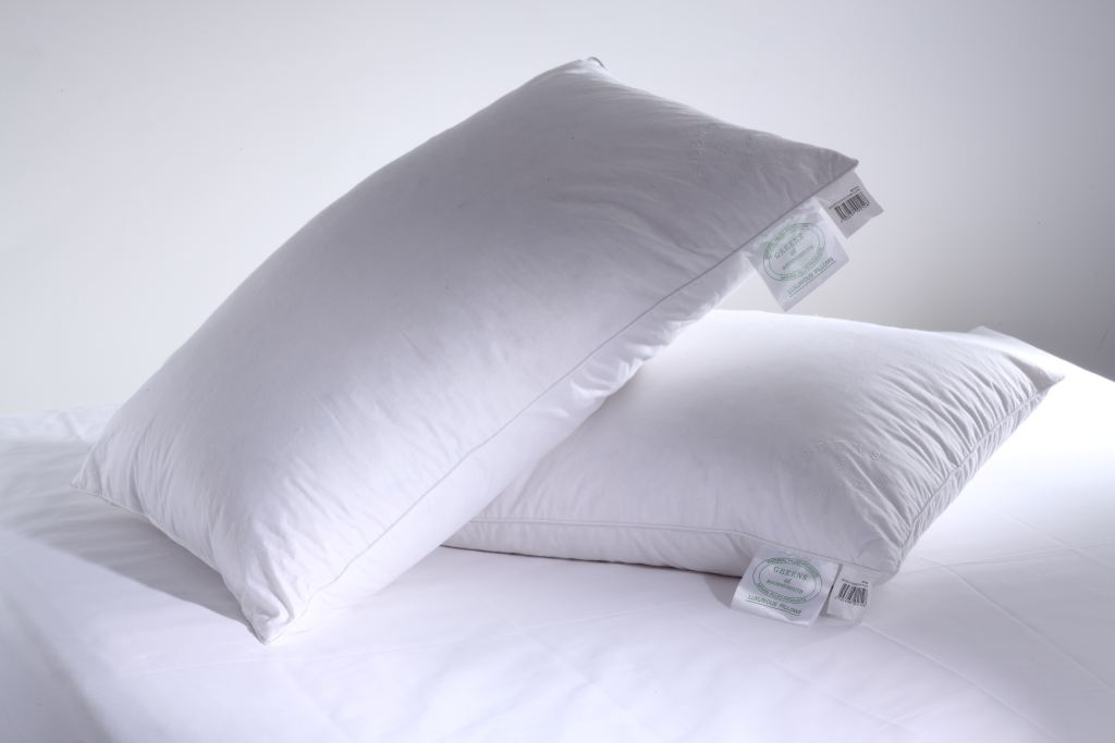 Greens Of Bournemouth Duck Feather Amp Down Pillow Hayley
