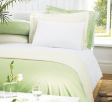 Greens luxury percale polycotton pillowcases