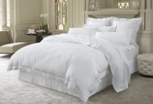 Sheridan Millennia 1200 Count Cotton Duvet Cover White/Snow