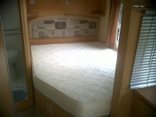 Bailey Caravan Fixed Bed Polycotton Fitted Sheet