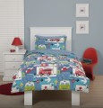 Just Kidding Rally Rescue Duvet Cover for Boys By Linen House at Hayley Green Luxury Linen