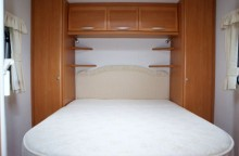 Swift Caravan Fixed Island Bed Fitted Sheet