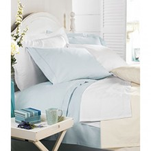 Hayley Green 220 Count Cotton Fitted Sheets