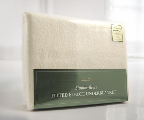 Slumberfleece Sheepskin Underblanket Hayley Green Luxury