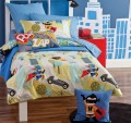 Hiccups I am Super children's bedding by Linenhouse
