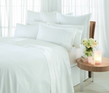 Sheridan 1000 Thread Count Cotton Fitted Sheets White