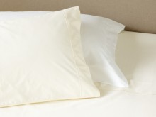 600 Count Cotton Bolster Pillowcases