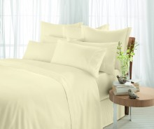 Sheridan 600 Thread Count Egyptian Cotton Fitted Sheets Vanilla